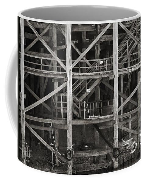Wharf Coffee Mug featuring the photograph Echuca Wharf by Kelly Jade King