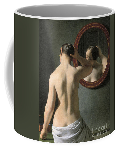 1837 Coffee Mug featuring the photograph Eckersberg: Nude, C1837 by Granger