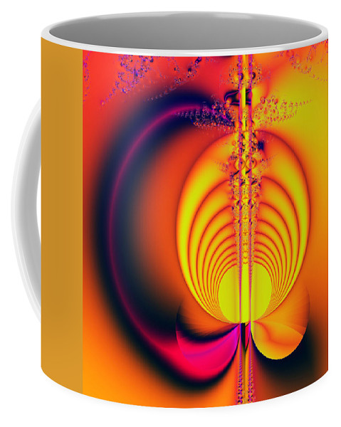 Digital Art Coffee Mug featuring the digital art Eclipse by Amanda Moore