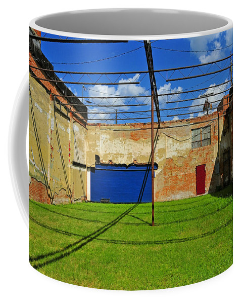 Skiphunt Coffee Mug featuring the photograph Eco-store by Skip Hunt