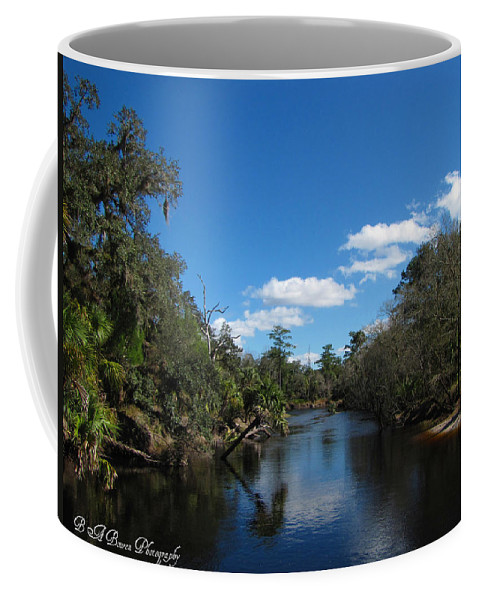Econlockhatchee River Coffee Mug featuring the photograph Econlockhatchee River by Barbara Bowen