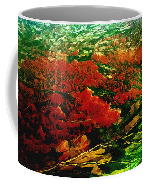 Natural Abstract Coffee Mug featuring the photograph Ecstasy by Anna Duyunova