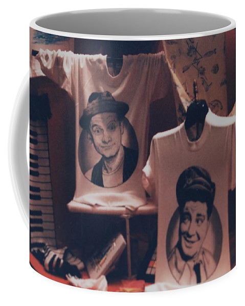 The Honeymooners Coffee Mug featuring the photograph Ed And Ralphie Boy by Rob Hans