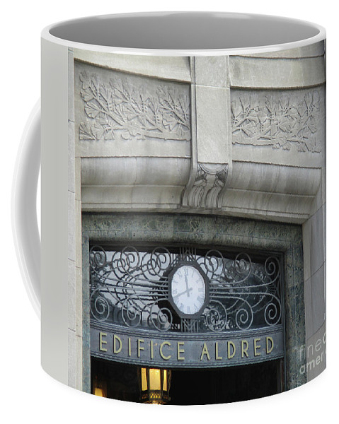 Montreal Coffee Mug featuring the photograph Edifice Aldred 2 by Randall Weidner