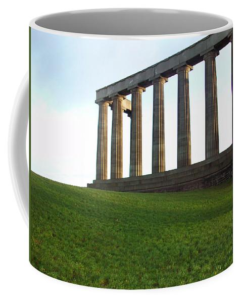 Scotland Coffee Mug featuring the photograph Edinburgh - Caption Hill by Munir Alawi