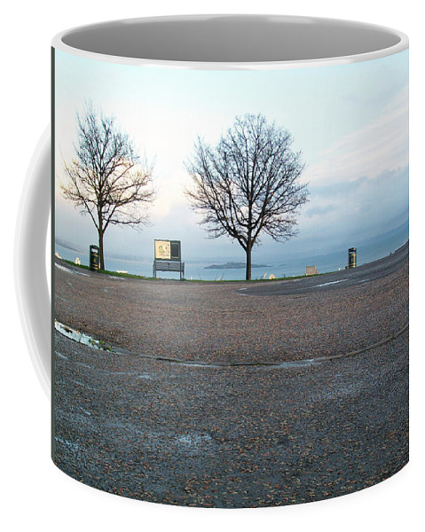 Photograph Coffee Mug featuring the photograph Edinburgh - Two Trees At Caption Hill by Munir Alawi