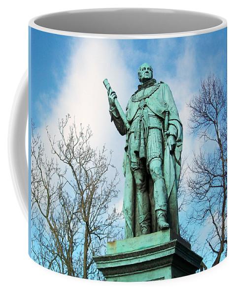 Scotland Coffee Mug featuring the photograph Edinburgh Trees by Munir Alawi