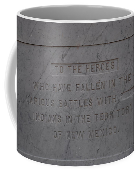 Marble Coffee Mug featuring the photograph Edited Deleted History by Rob Hans