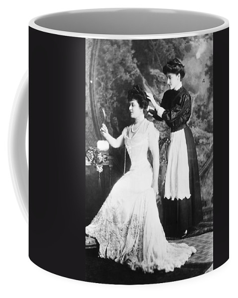 1908 Coffee Mug featuring the photograph Edith M. Kingdon (1864-1921) by Granger