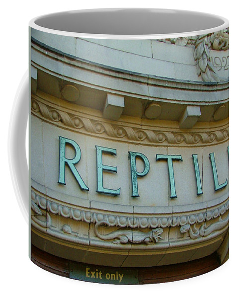 Reptile Coffee Mug featuring the photograph Edwardian Reptile House by Heather Lennox