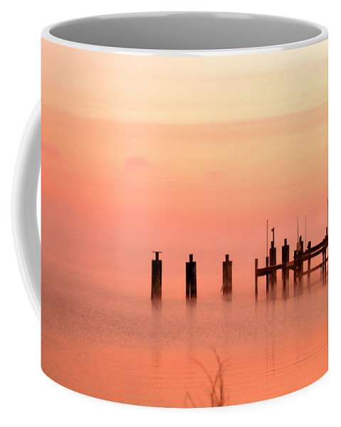 Clay Coffee Mug featuring the photograph Eery Morn by Clayton Bruster