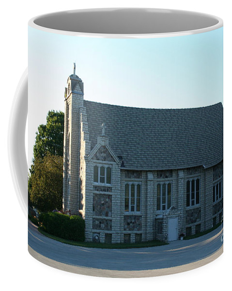 Church Coffee Mug featuring the photograph Egg Harbor Church by Tommy Anderson