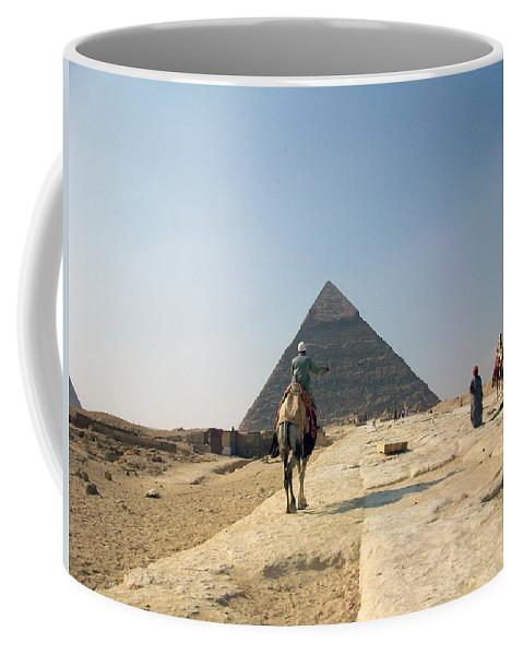Egypt Coffee Mug featuring the photograph Egypt - Pyramid3 by Munir Alawi