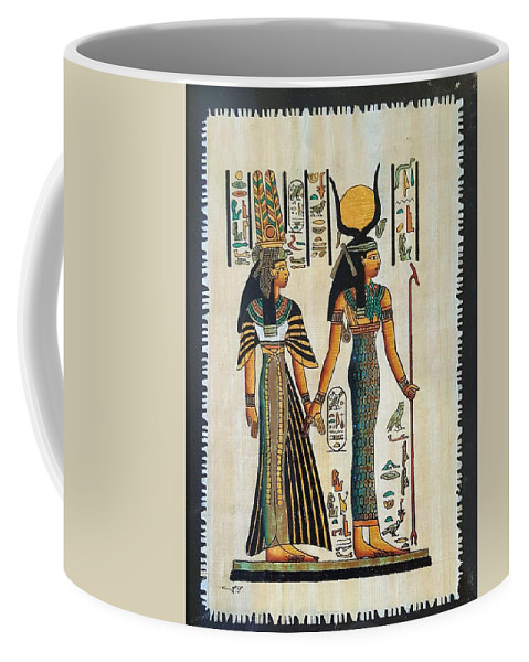 Temple Of Horus Coffee Mug featuring the photograph Egyptian Papyrus by Rob Hans