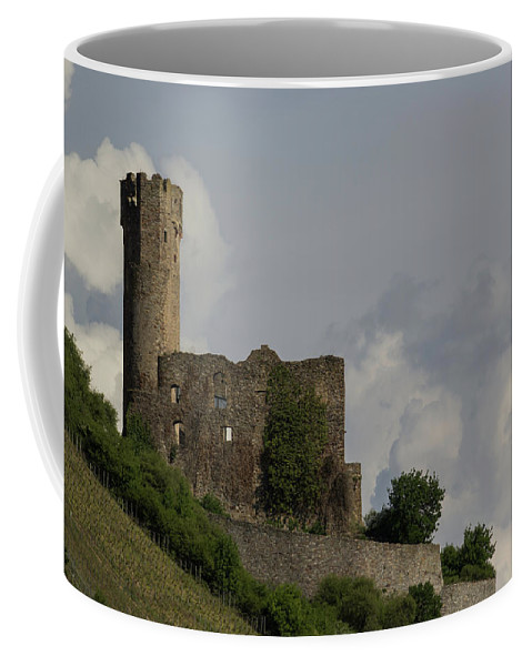 Ehrenfels Castle Coffee Mug featuring the photograph Ehrenfels Castle 03 by Teresa Mucha