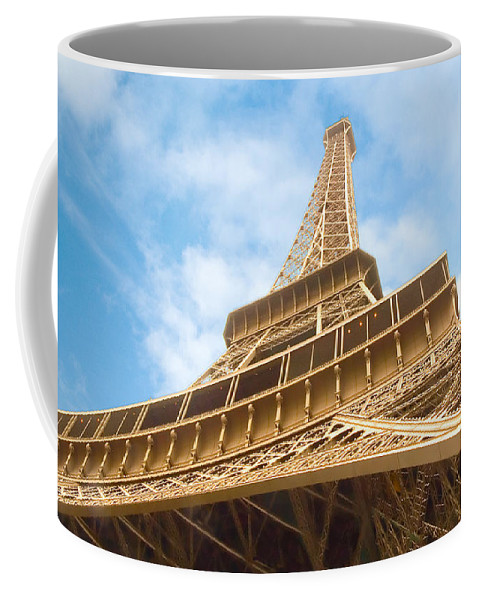 Eiffel Tower Coffee Mug featuring the photograph Eiffel Tower by Mick Burkey