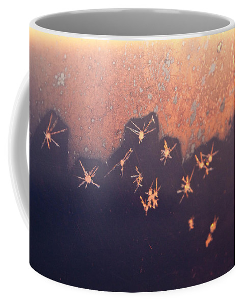 Abstract Coffee Mug featuring the photograph Eight Miles High by Casper Cammeraat