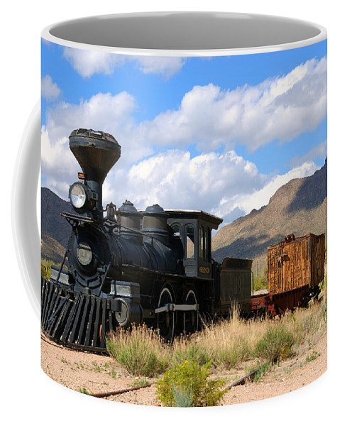 Photography Coffee Mug featuring the photograph El Reno by Susanne Van Hulst