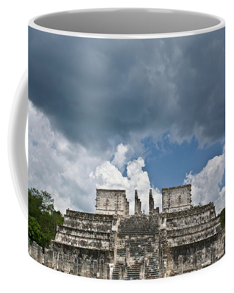 El Templo De Las Columnas Coffee Mug featuring the photograph El Templo De Las Columnas 1 by Douglas Barnett