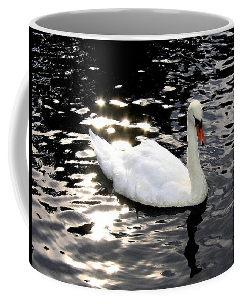 Sun Rays Coffee Mug featuring the photograph Electric Waters by Will Borden