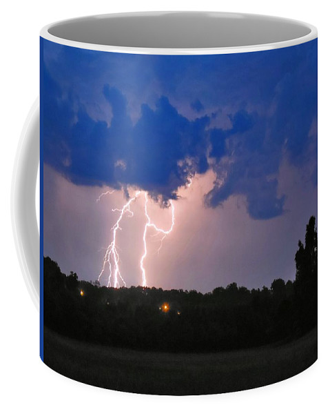 Nature Coffee Mug featuring the photograph Electrifying Southern Davidson County by Matt Taylor