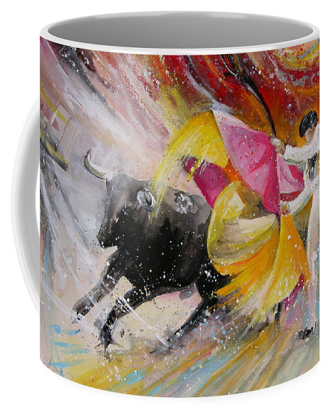 Animals Coffee Mug featuring the painting Elegance by Miki De Goodaboom