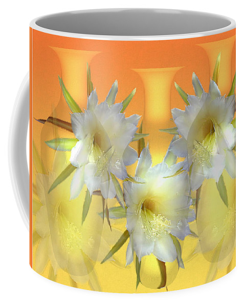 Cacti Coffee Mug featuring the photograph Elegant Beauty by Joyce Dickens