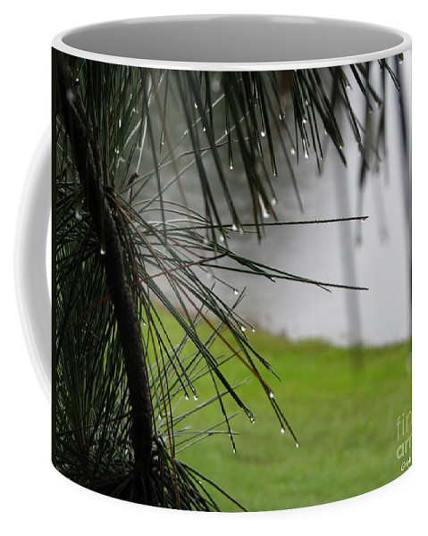 Lakes Coffee Mug featuring the photograph Elements by Greg Patzer
