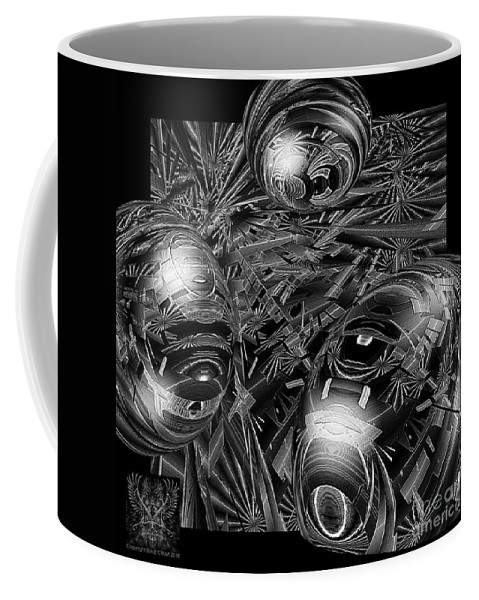 Surreal Coffee Mug featuring the digital art Elements Of Peace by Dale Crum