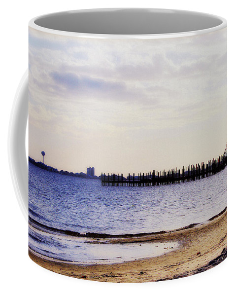 Coastal Coffee Mug featuring the photograph Elements On The Coast by Faith Williams