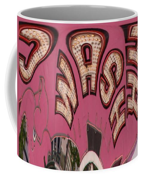 Seattle Coffee Mug featuring the digital art Elephant Car Wash by Tim Allen