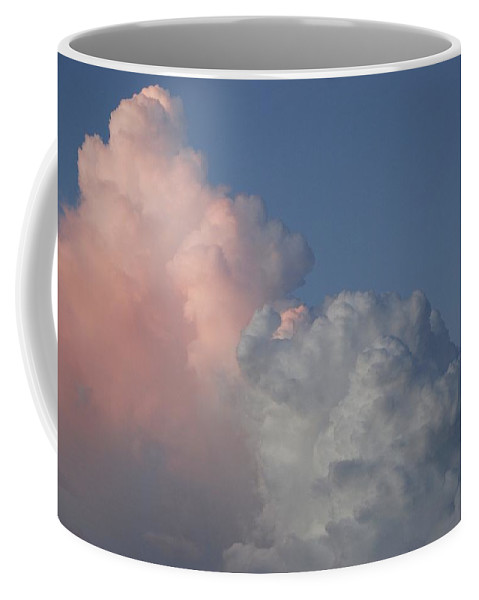 Clouds Coffee Mug featuring the photograph Elephant Cloud by Rob Hans