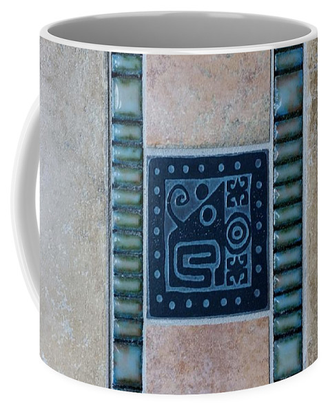 Aztec Coffee Mug featuring the photograph Elephant Crabs by Rob Hans