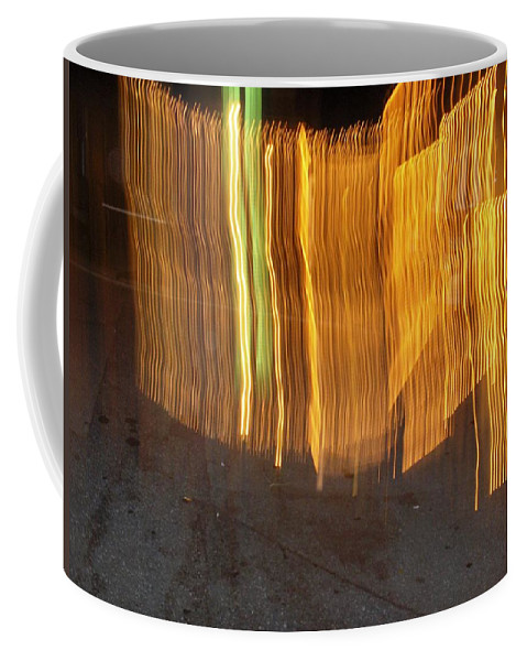 Photograph Coffee Mug featuring the photograph Eletric Fence by Thomas Valentine