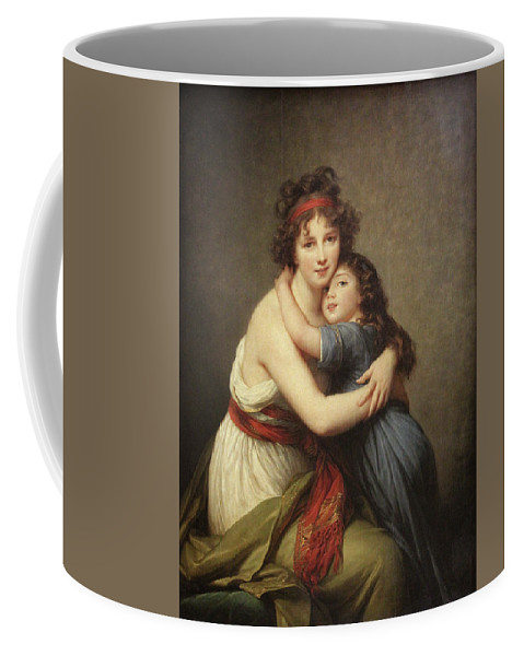 1789 Coffee Mug featuring the painting Elisabeth Vigee-lebrun, 1755-1842. by Granger