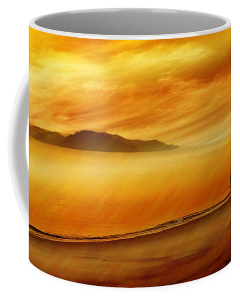 Landscapes Coffee Mug featuring the photograph Elixir Of Life by Holly Kempe