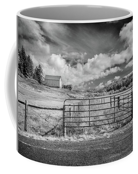 Barn Coffee Mug featuring the photograph Elk River Valley In Infrared by Greg Nyquist