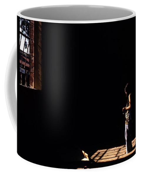 Portrait Coffee Mug featuring the photograph Ellen by Lee Santa