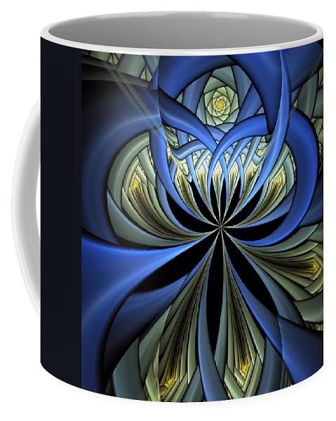 Digital Art Coffee Mug featuring the digital art Embedded by Amanda Moore