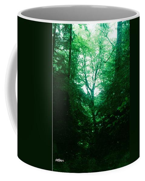 Emerald Coffee Mug featuring the photograph Emerald Glade by Seth Weaver
