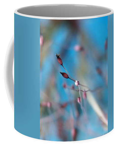 Abstract Coffee Mug featuring the photograph Emerge by Lauren Radke