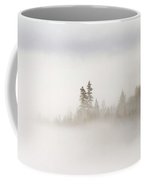 Fog Coffee Mug featuring the photograph Emergence by Mike Dawson