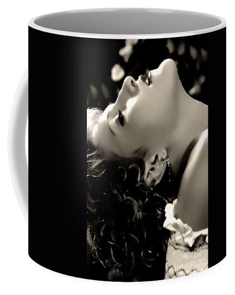 Clay Coffee Mug featuring the photograph Emersed In The Moment by Clayton Bruster