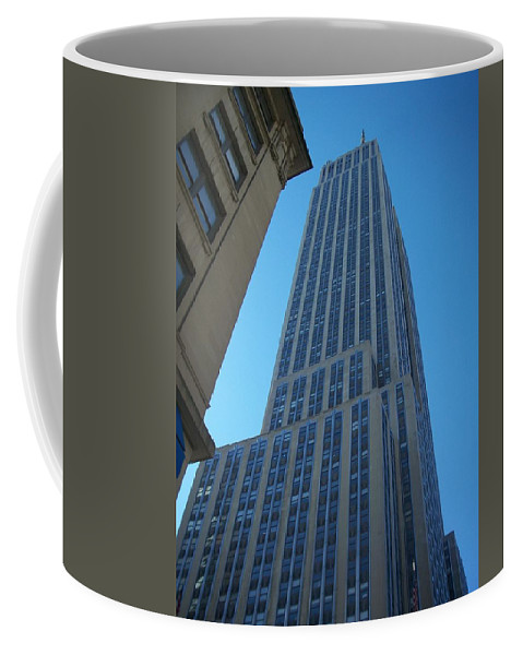 Emoire State Building Coffee Mug featuring the photograph Empire State 2 by Anita Burgermeister