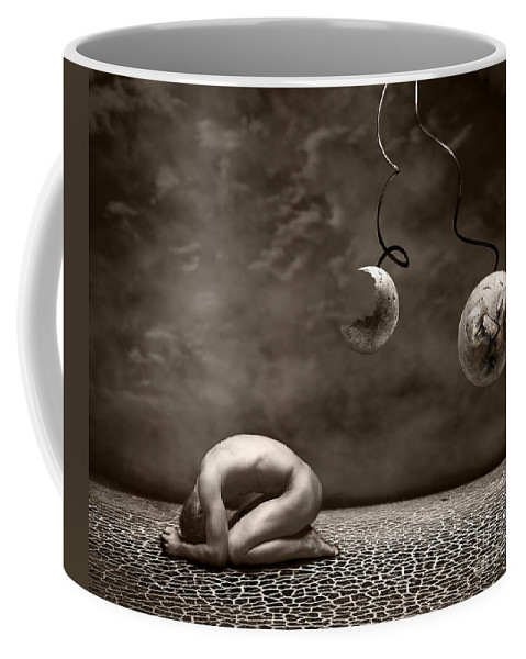 Surreal Coffee Mug featuring the photograph Emptiness by Jacky Gerritsen