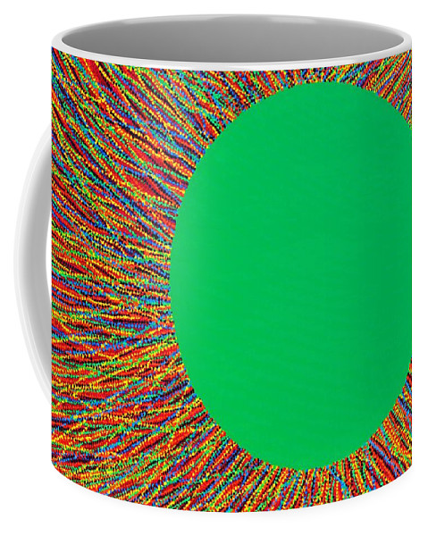 Contemporary Coffee Mug featuring the painting Empty Cup 1 by Kyung Hee Hogg