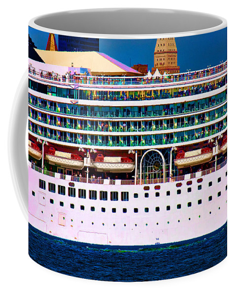 Cruise Coffee Mug featuring the photograph En Voyage by Chris Lord