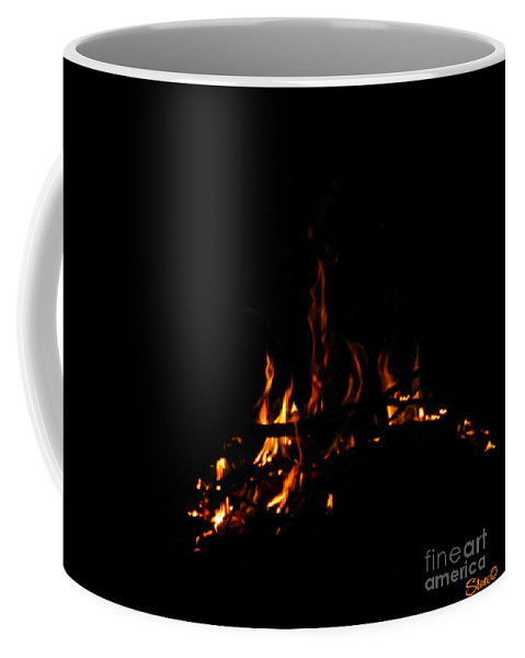 Fire Coffee Mug featuring the photograph Ena by September Stone