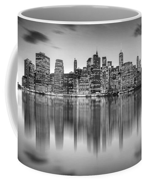 One World Trade Center Coffee Mug featuring the photograph Enchanted City by Az Jackson