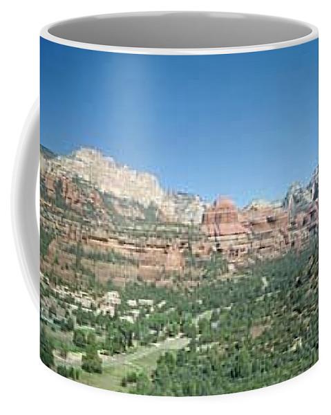 Sedona Coffee Mug featuring the photograph Enchantment Resort Sedona Arizona by Gary Wonning